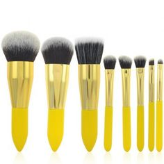 SHARE & Get it FREE | Cosmetic 8 Pcs Lemon Yellow Germproof Fiber Makeup Brushes SetFor Fashion Lovers only:80,000+ Items·FREE SHIPPING Join Dresslily: Get YOUR $50 NOW!