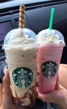 Comida Do Starbucks, Bebidas Do Starbucks, Starbucks Secret Menu Drinks, Healthy Starbucks, Starbucks Coffee, Think Food, Love Food, Yummy Drinks, Yummy Food
