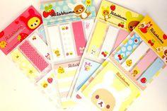 Items similar to Kawaii RILAKKUMA cute bookmark sticky notes memo pad Japan cartoon stationery planner DIY on Etsy Cute Bookmarks, Note Memo, Japanese Cartoon, Stationery Items, Rilakkuma, Smash Book, More Cute, Sticky Notes, Kawaii