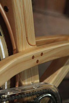 Wooden Retro Bicycles - The Sman Cruiser Combines Creativity with Carpentry (GALLERY)