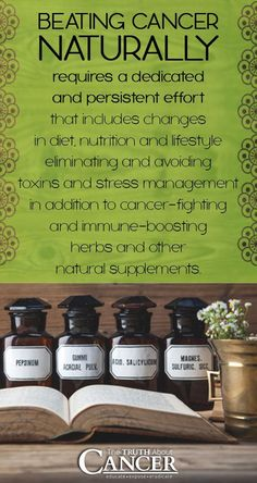 Healing from cancer naturally requires a dedicated and persistent effort. Join us on The Truth About Cancer to learn how to treat cancer 100% naturally! Click on the image and you'll get redirected to our website.