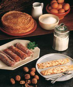 Como recuerdo a mi abuelo Alfonso Rivera, de Gijon, Casadielles y frixuelos, 2 incunables de la repostería asturiana.