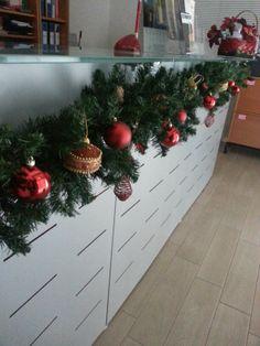 Decorazioni Natalizie Per Ufficio.28 Fantastiche Immagini Su Idee Per Il Natale In Ufficio