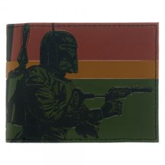 Star Wars Boba Fett Rogue Assassin Bi-Fold Wallet Licensed #StarWars #Bifold