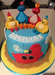 Twirlywoo cake