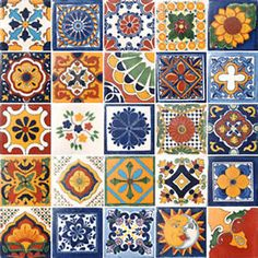mexican tiles - Google Search
