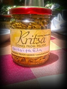 Tsitsiravla Greek Recipes, Salsa, Jar, Bottle, Drinks, Food, Drinking, Beverages, Salsa Music