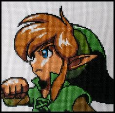 Legend of Zelda Link Pattern | Recent Photos The Commons Getty Collection Galleries World Map App ...