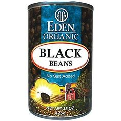 Vegetables 43400: Eden Organic Black Beans, No Salt Added, 15-Ounce Cans (Pack Of 12) -> BUY IT NOW ONLY: $48.8 on eBay!