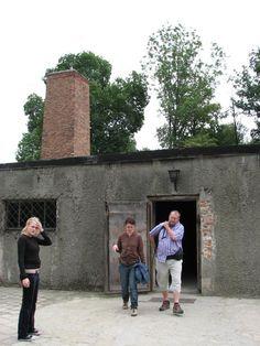 Auschwitz gas chamber  Krakow, Poland