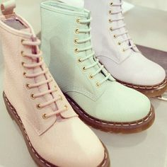 These pastel Dr. Martins are PERFECT for spring!