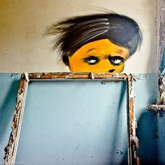 Jan Smith - photo series of graffiti at Chernobyl