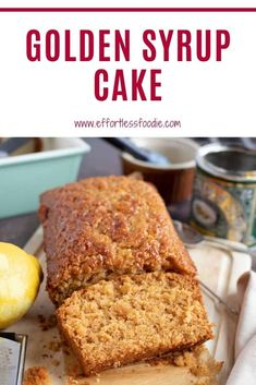 Box Cake Recipes, Sheet Cake Recipes, Delicious Cake Recipes, Cupcake Recipes, Yummy Cakes, Cupcake Cakes, Dessert Recipes, Golden Syrup Cake, Tea Loaf