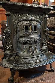 Antiek Fornuis Royalty-vrije Stock