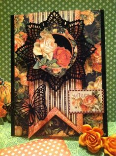 Gorgeous An Eerie Tale card by ReNae Allen #graphic45 #cards