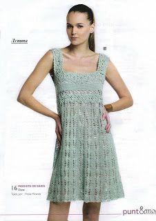Lots of  chart patterns for beautiful women's girls and baby dresses. Artesanato diversão e prazer: vestidos em croche