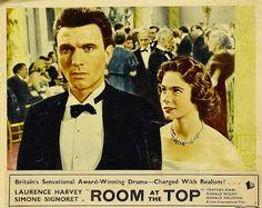 Carteles del cinema: 1959 - UN LUGAR EN LA CUMBRE - Room at the Top - Jack Clayton