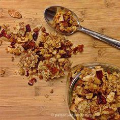Cranberry Apricot Granola | Paleo Foodie Kitchen