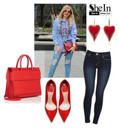 """""""SheIn"""" by novagr ❤ liked on Polyvore featuring Givenchy"""