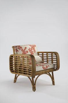 Paul Frankl Pretzel Rattan Cane Bamboo Chair Vintage   Peninsula Drive |  Pinterest   Beautiful, Ottomanen En The Originals