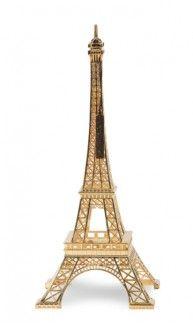 Design MerciGustave by Nathalie Leret & Yves Castelain Plaqué or 18 carats • sous boite vitrine plexi prestige (en option) • Marquage numeroté • Certificat avec reprise du numéro • Minicatalogue • Dimensions : 31,5x13x13 • Poids : 400g (+emballage 220g) • base en alliage de zinc • Made in RPC #Gold #Bling #Eiffel #Tower #Arty #Design ($330)