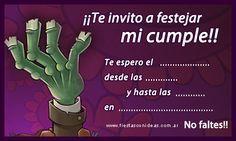 Tarjeta de cumpleaños de plants-vs-zombies