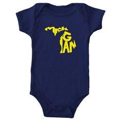Michigan State Onesie by The Stately Shirt by TheStatelyShirtCo