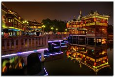 Yùyuán Gardens  & Bazaar (China). 'Sūzhōu is forever associated  with traditional  Chinese gardens, but the  Yùyuán Gardens – in  Shànghǎi's Old Town – is  one of the nation's best  examples. With its ponds,  trees, flowers, bridges,  pavilions and harmonic  compositions, the gardens  encourage contemplation  and reflection, elusive  moods in today's frantic  Shànghǎi.' http://www.lonelyplanet.com/china/shanghai/sights/gardens-bazaar/yuyuan-gardens-bazaar