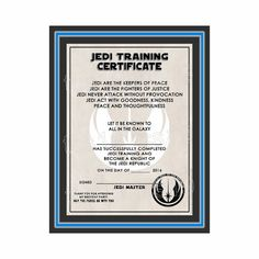 Leadership training certificates certificate templates certificate printable training certificate galaxy star wars inspired instant download yelopaper Choice Image