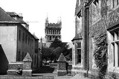 Wimborne, Minster From Grammar School c.1950, from Francis Frith