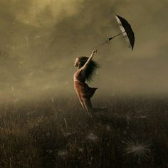 ''A storm was coming but that's not what she felt . It was adventure on the wind and it shivered down her spine ''  ~ Atticus