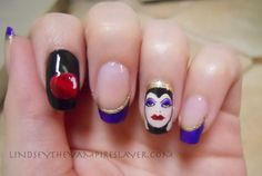 Evil Queen Nails! This needs to happen!