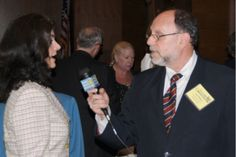 Paul Sladkus, Founder of GoodNews Broadcast interviews Barbara Page, Board of Directors Chairwoman and Site Sponsor of Huntington, NY, Family Service League