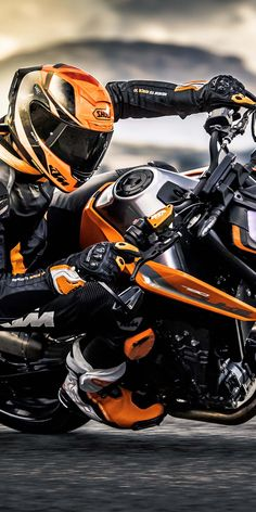 2018 KTM 790 Duke, sports bike, 1080x2160 wallpaper