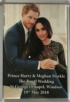 $10.31 - Prince Harry/Meghan/Markle/Royal Wedding/Souvenir/Fridge Magnet/New #ebay #Lifestyle