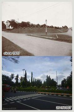 Taman Diponegoro Semarang tempo dulu