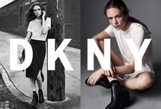 Fashion Copious - Adrienne Jüliger for DKNY SS 2016 Campaign by Lachlan Bailey