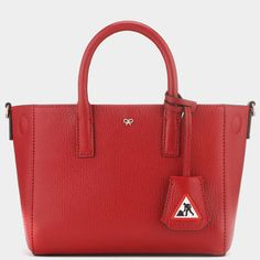 Shop Anya Hindmarch® luxury handbags, accessories and personalised bespoke gifts & accessories Anya Hindmarch Luxury Handbags, Designer Handbags, Working Man, Anya Hindmarch, Fall Winter, Autumn, Mini, Tote Bags, Totes