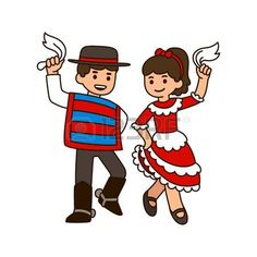 Find Cute Cartoon Children Dancing Cueca Traditional stock images in HD and millions of other royalty-free stock photos, illustrations and vectors in the Shutterstock collection. Cute Cartoon, Fallout Vault, Dance, Children, Boys, Fictional Characters, Science, Google, Ideas