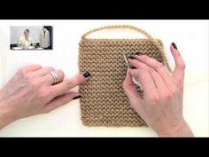▶ Knitting Help - Weaving in Ends in Garter Stitch - YouTube
