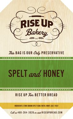 Packaging - Rise Up Bakery