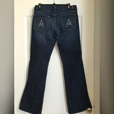 "7 For All Mankind Jeans 7 For All Mankind Jeans ""A Pocket"" Excellent condition. Size 30R 7 for all Mankind Jeans Boot Cut"