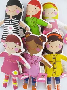 Design your own handmade dolls with Sophie & Lili