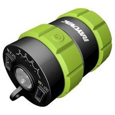 <p>When you need lots of power, the Rayovac Adventurer Mobile Device Charger is one that can charge you up over and over again. It has 2 USB ports—a 2.4A and a 1.0A—so you can charge 2 devices at once. Built-in flashlight runs off the stored battery power and can be used in high, low or SOS mode. A must for camping or to have on hand when there's a power outage.</p>