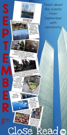 These differentiated text and lesson plans will make teaching about September 11th simple.