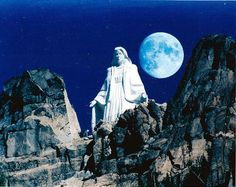 Our Lady of the Rockies is a 90 foot statue in Butte, MT. I drive by it every time I go to Great Falls, MT.