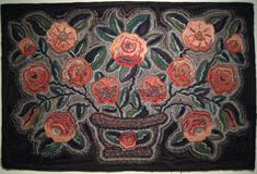 Fish Eye Rugs: some rugs from the Shelburne Museum...