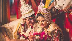 5 Bridal Makeup Tips To Look The Perfect Bengali Bride Bridal Makeup Tips, Bengali Bridal Makeup, Bengali Wedding, Bengali Bride, Indian Bridal, Wedding Poses, Wedding Shoot, Wedding Couples, Wedding Outfits