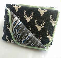 Check out this item in my Etsy shop https://www.etsy.com/au/listing/268255307/luxurious-baby-quilt-buck-forest-faux