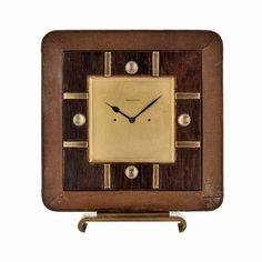 Things that inspire us: a 1950s Jaeger-LeCoultre desk clock   #clock #clocks #vintageclock #deskclock #antique #rare #madmen #luxury #coolstuff #decor #thingsthatinspireus #retro #vintage #vintagestyle #classic #classicdesign #design #timeless #1950s #watchcollector #watchcollection #hodinkee #bestofinstagram #horology #timepiece #timekeeping